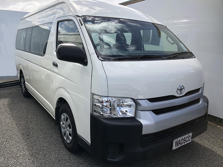 12 Seater Hi-Ace Minibus